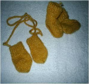 Turbo Babyhandschuhe stricken - Strickanleitung kostenlos für Baby TT52
