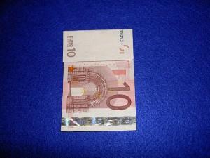 Hemd Geldschein falten und basteln - Hemd Geld falten