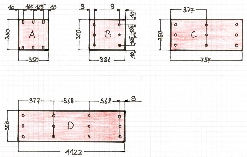 Wurfelregal Bauen Bauanleitung Fur Ein Regal Aus Wurfeln Bauplan