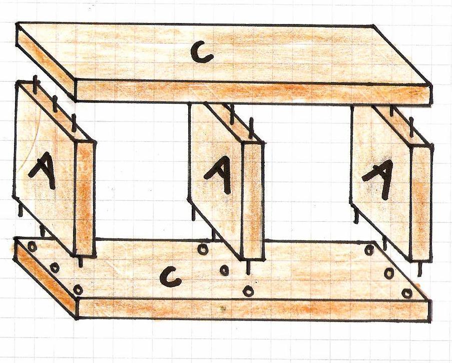 Hervorragend Würfelregal bauen - Bauanleitung für ein Regal aus Würfeln - Bauplan XF99