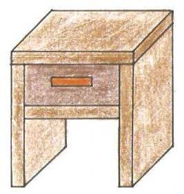 Turbo Nachttisch aus Holz bauen - Nachttisch Bauanleitung - kleiner EB88