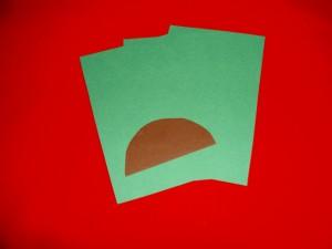 weihnachtsbaum aus papier basteln tannenbaum falten. Black Bedroom Furniture Sets. Home Design Ideas